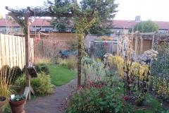 Tuin Judith en Jeroen een jaar na aanplant